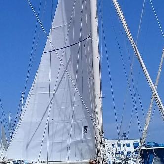 Grand-voile semi-lattée - Sails Tech