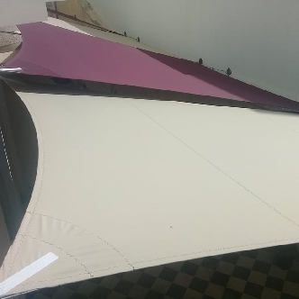 Voile d'ombrage en acrylique