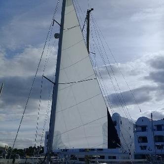 large sail winder